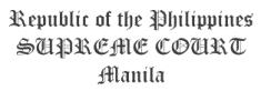 PHILIPPINE SUPREME COURT DECISIONS