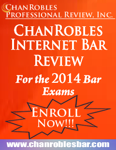 ChanRobles Internet Bar Review