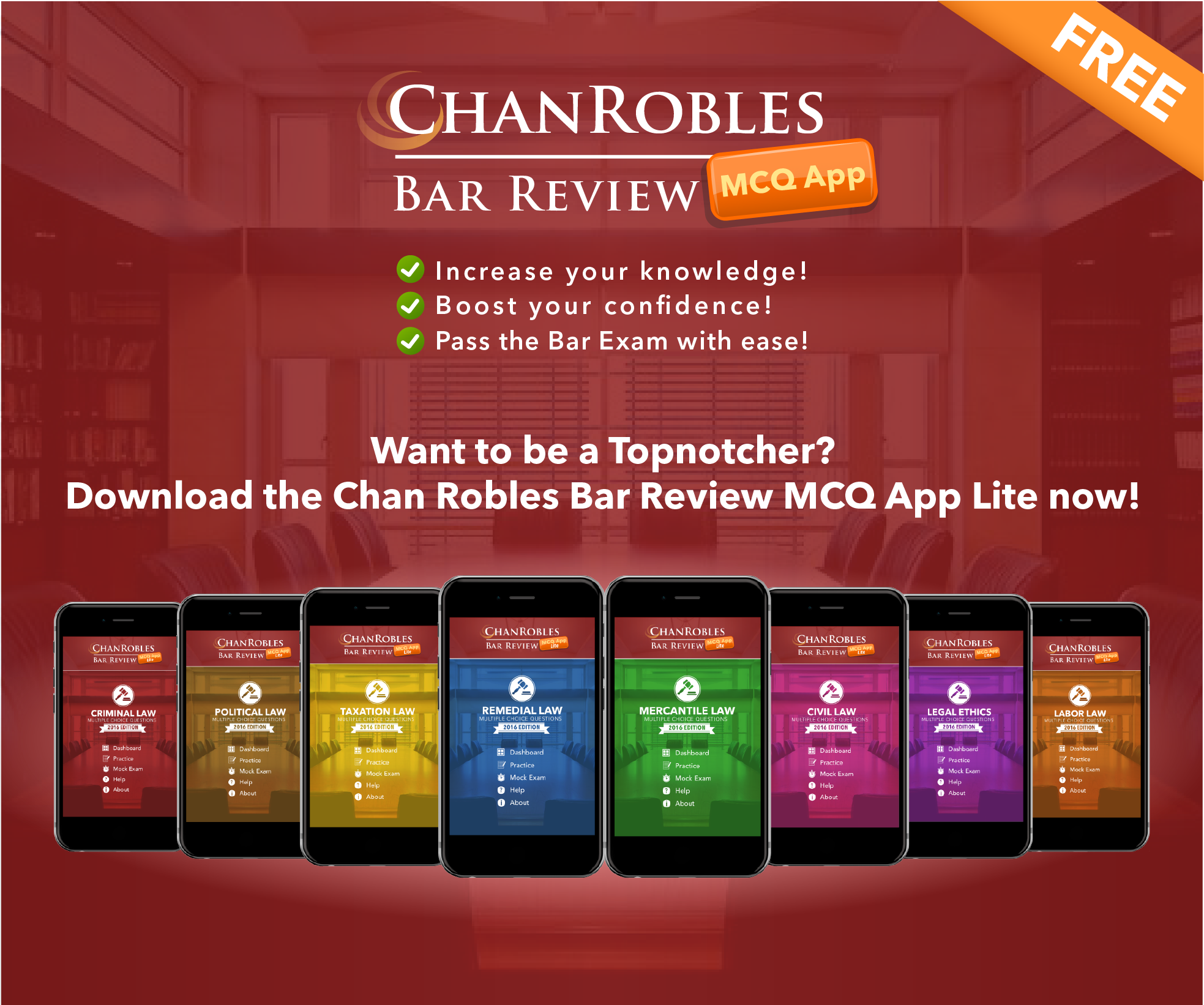 ChanRobles Bar MCQ App